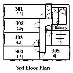 guesthouse sharehouse 立川レトロ館 floorplan3