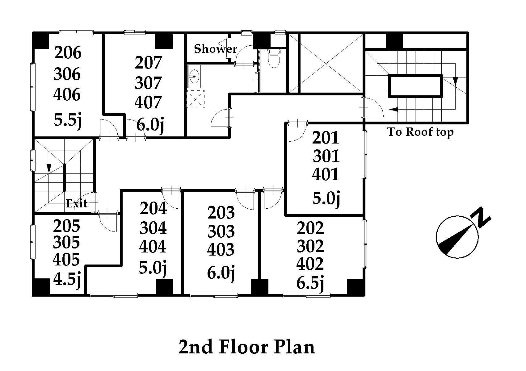 guesthouse sharehouse ジアス日暮里 floorplan2