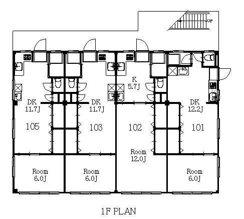 guesthouse sharehouse 東京租屋松戶第七 floorplan1