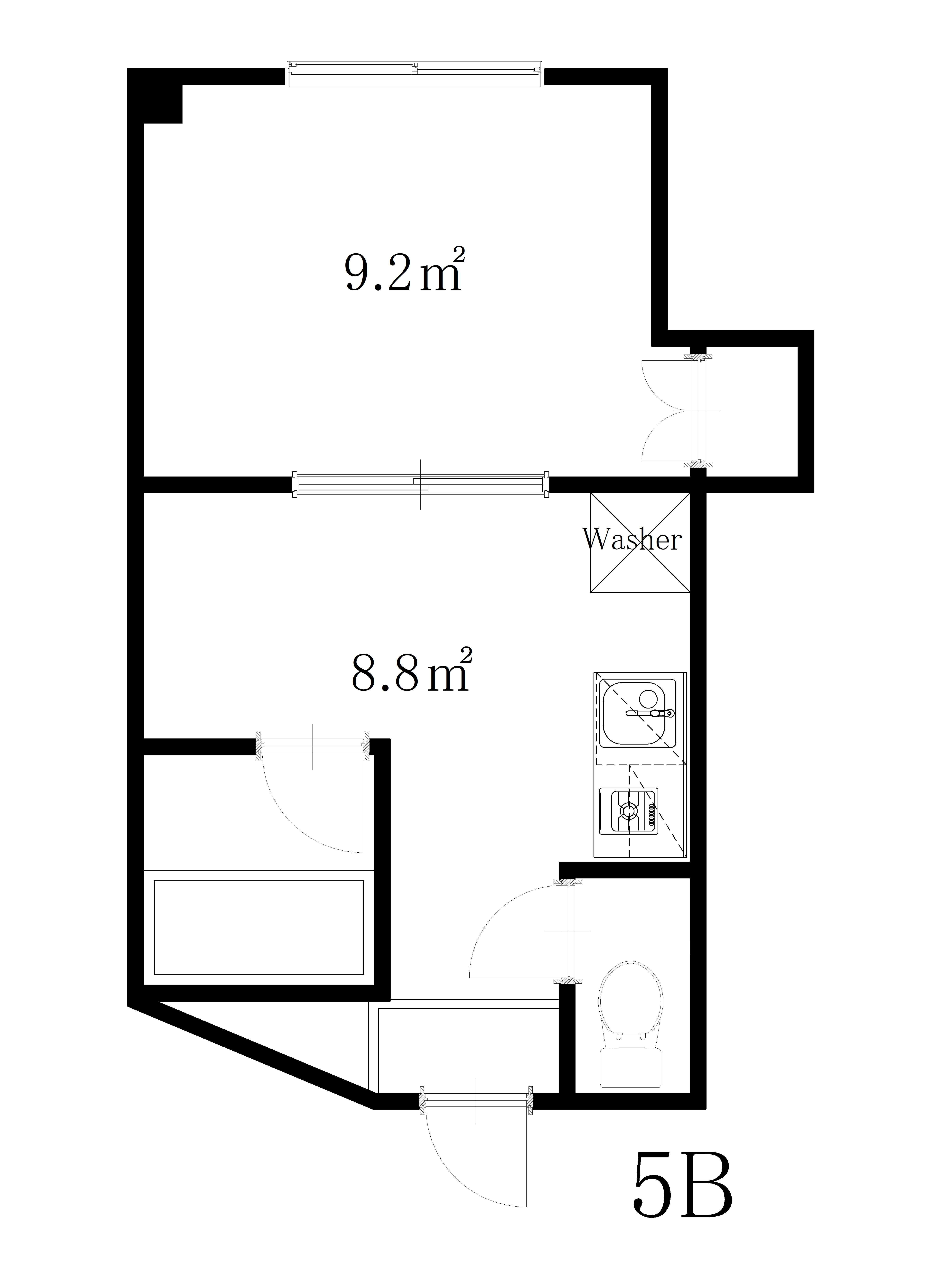 guesthouse sharehouse YAZU APARTMENT floorplan9