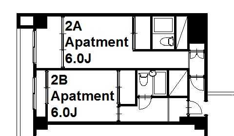 guesthouse sharehouse Social residence 히가시코가네이 floorplan7
