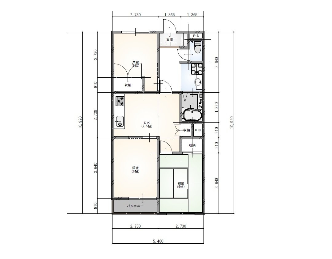 guesthouse sharehouse NOZAKI BUILDING 85(Kodaira) floorplan2