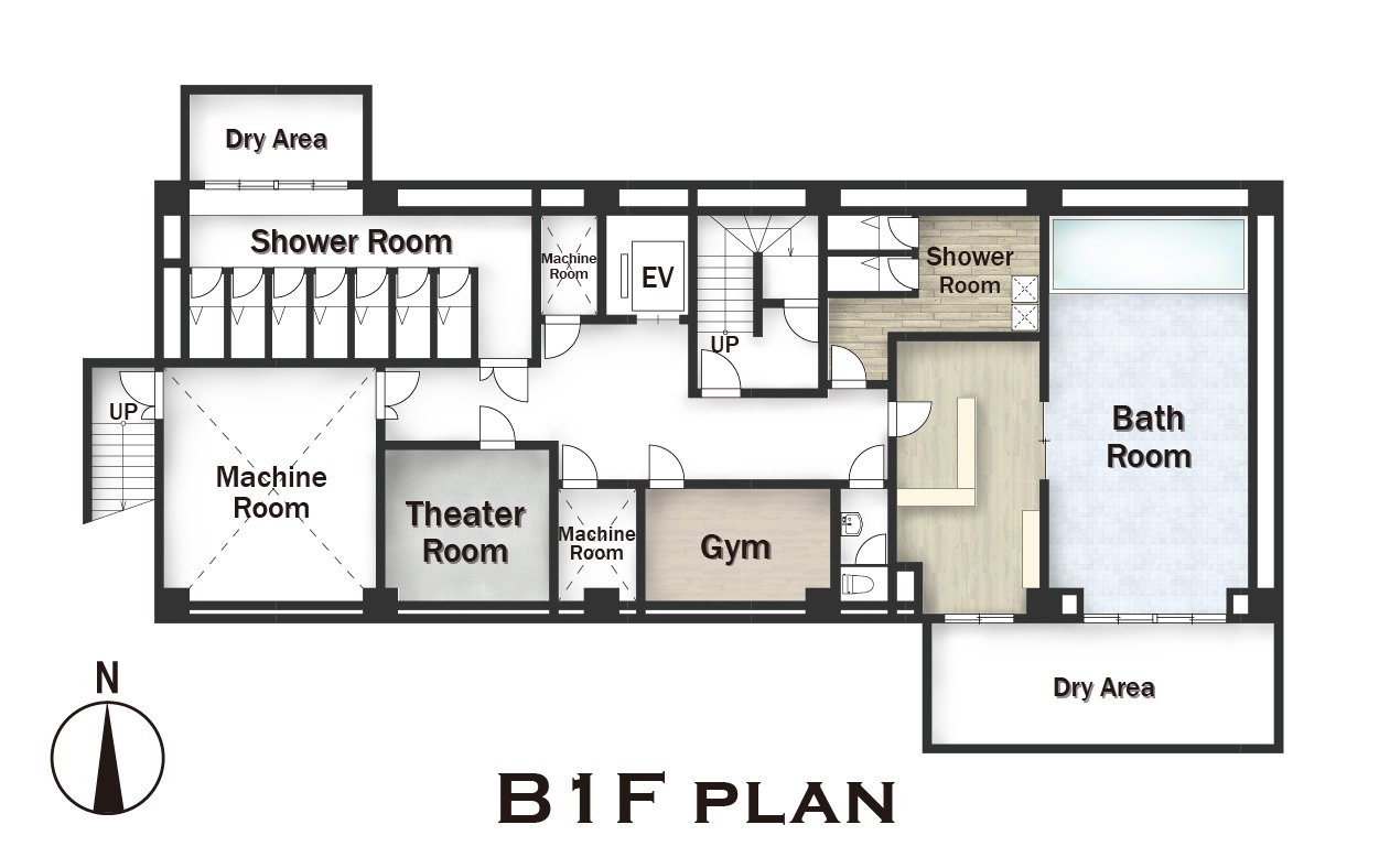 guesthouse sharehouse Social residence  하나코가네이 floorplan1