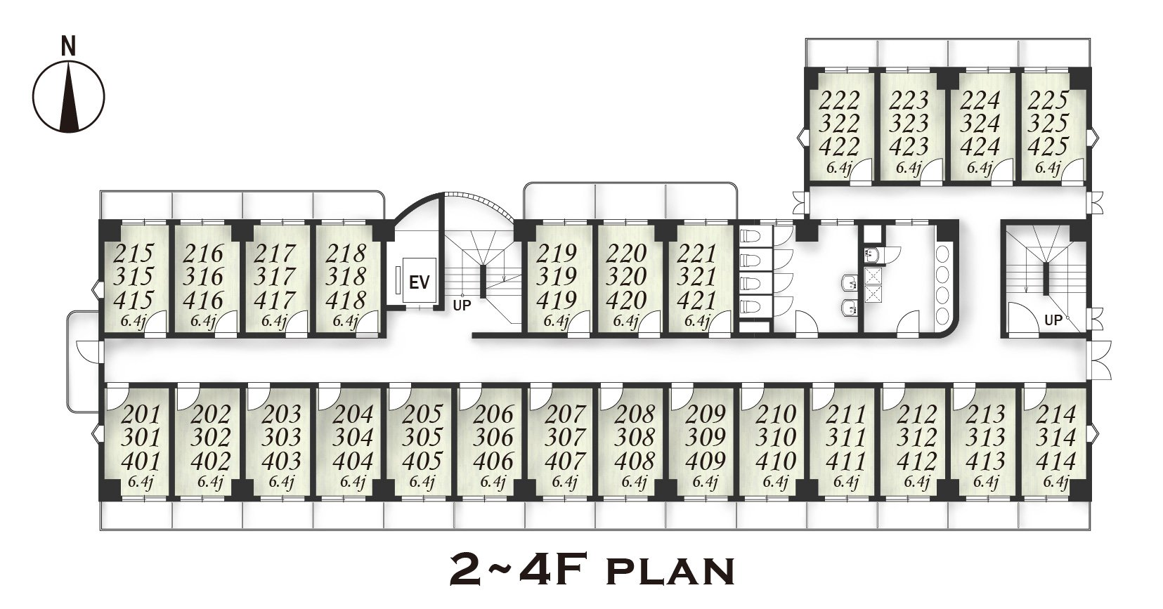 guesthouse sharehouse Social residence  하나코가네이 floorplan3