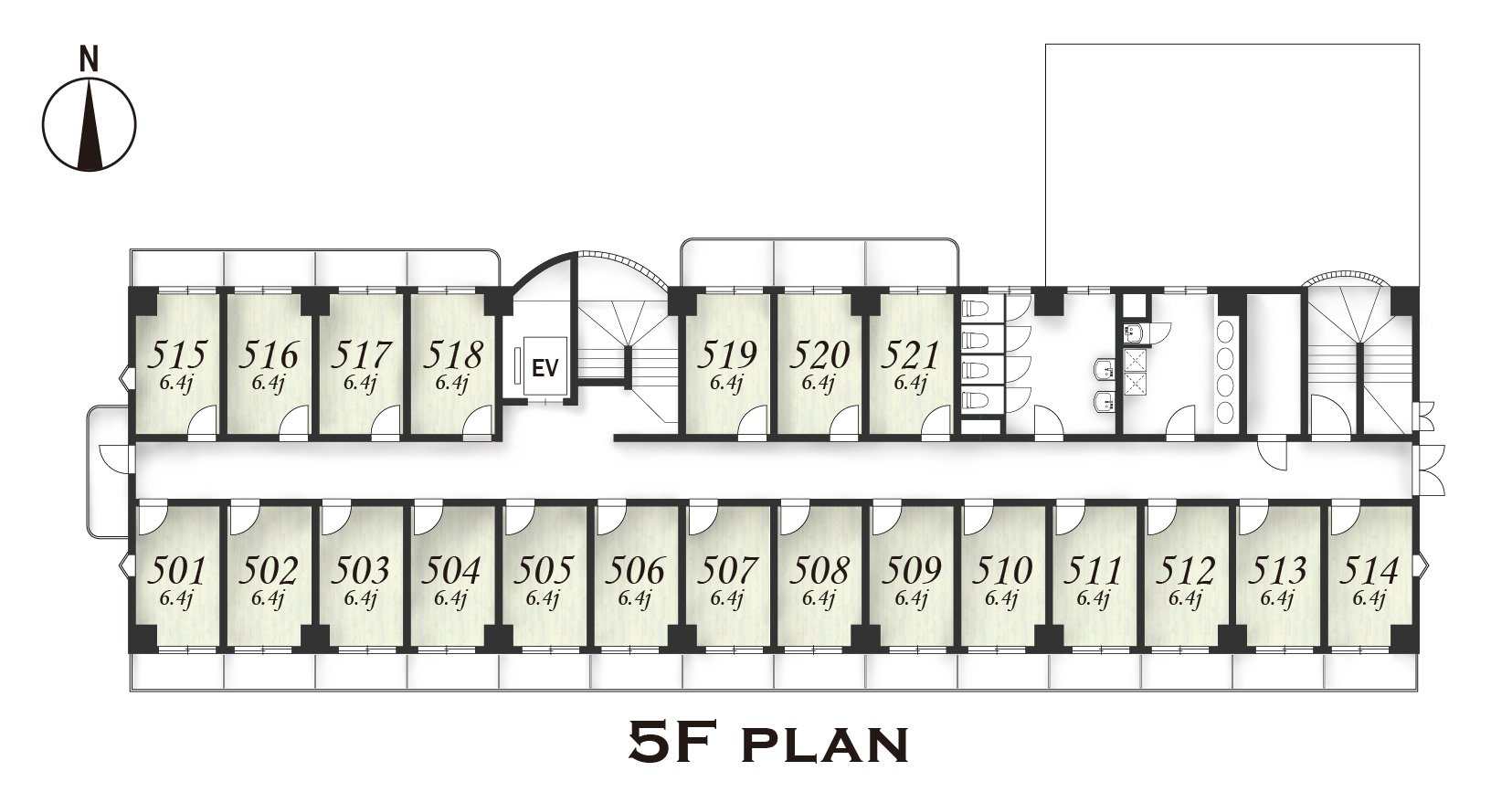 guesthouse sharehouse Social residence  하나코가네이 floorplan4