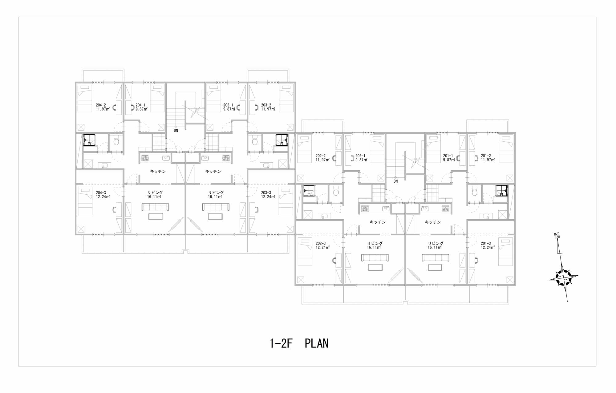 guesthouse sharehouse ガーデンタウン戸塚 floorplan2