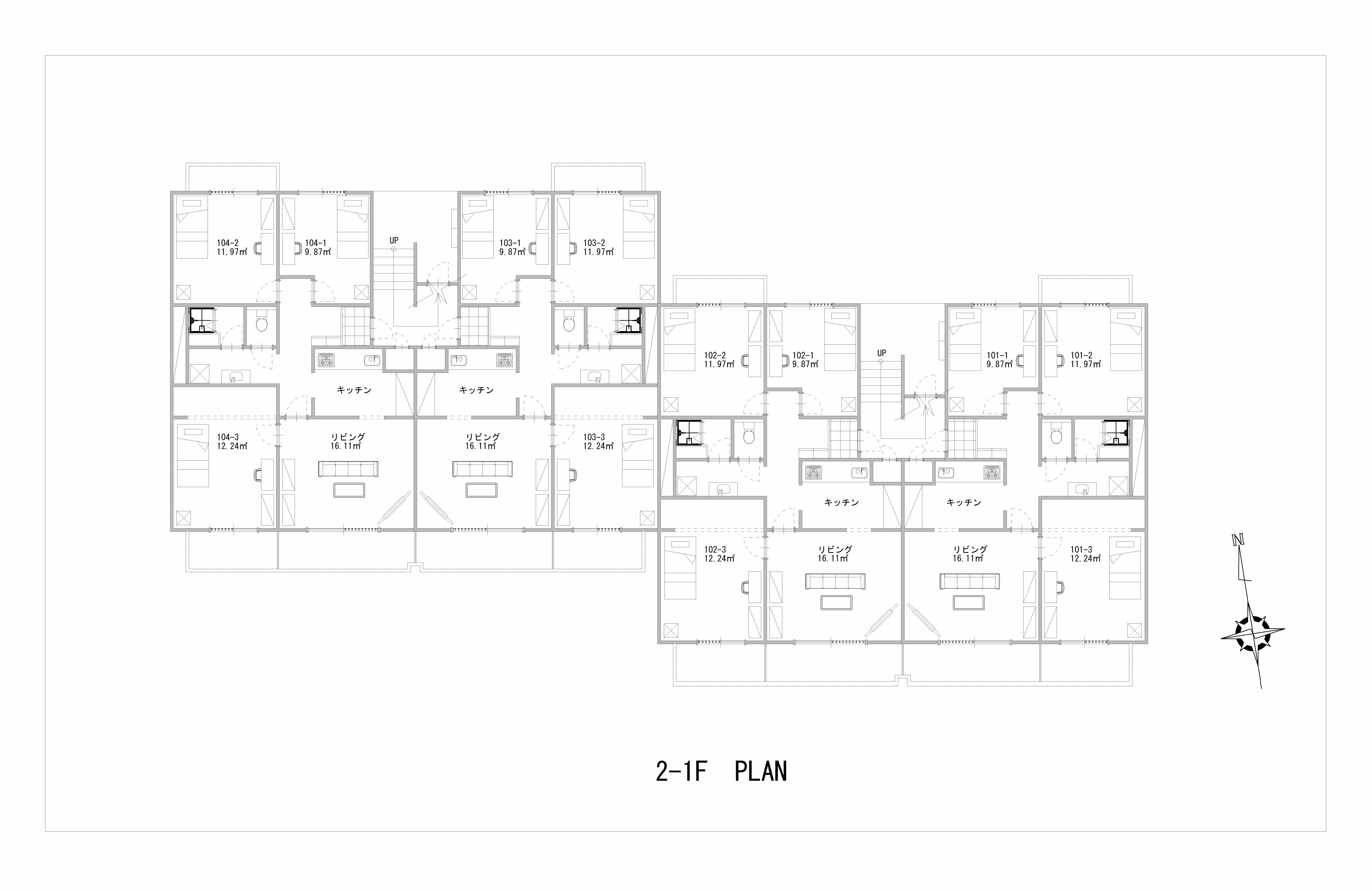 guesthouse sharehouse ガーデンタウン戸塚 floorplan3