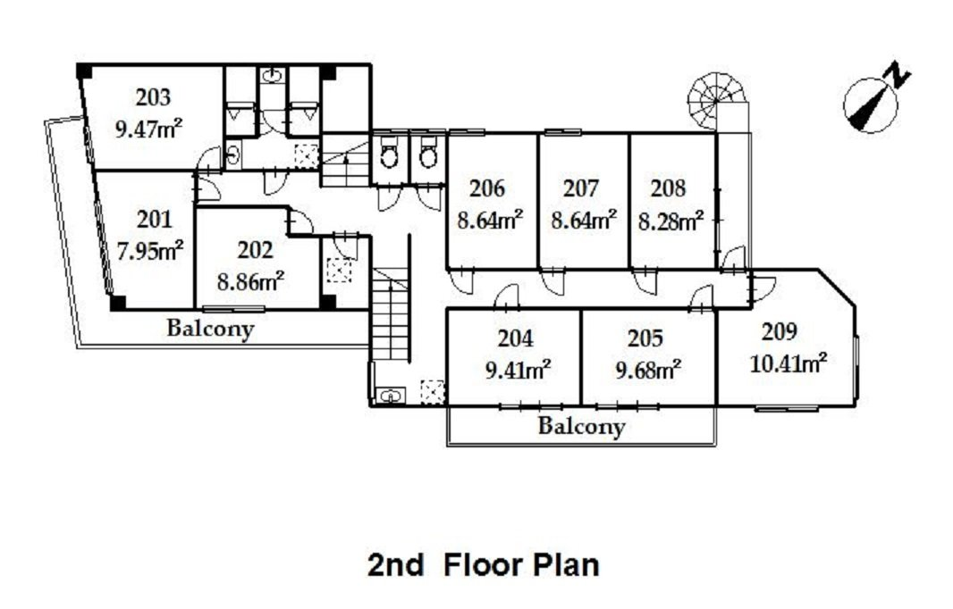 guesthouse sharehouse プレミア日野 floorplan2