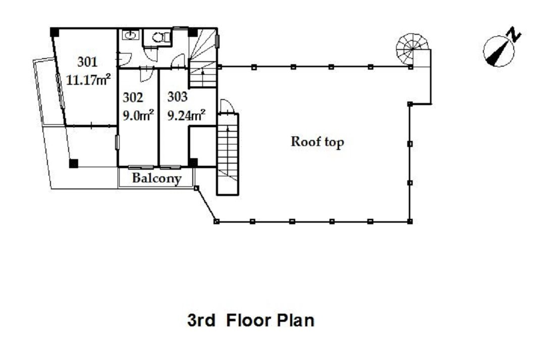 guesthouse sharehouse プレミア日野 floorplan3