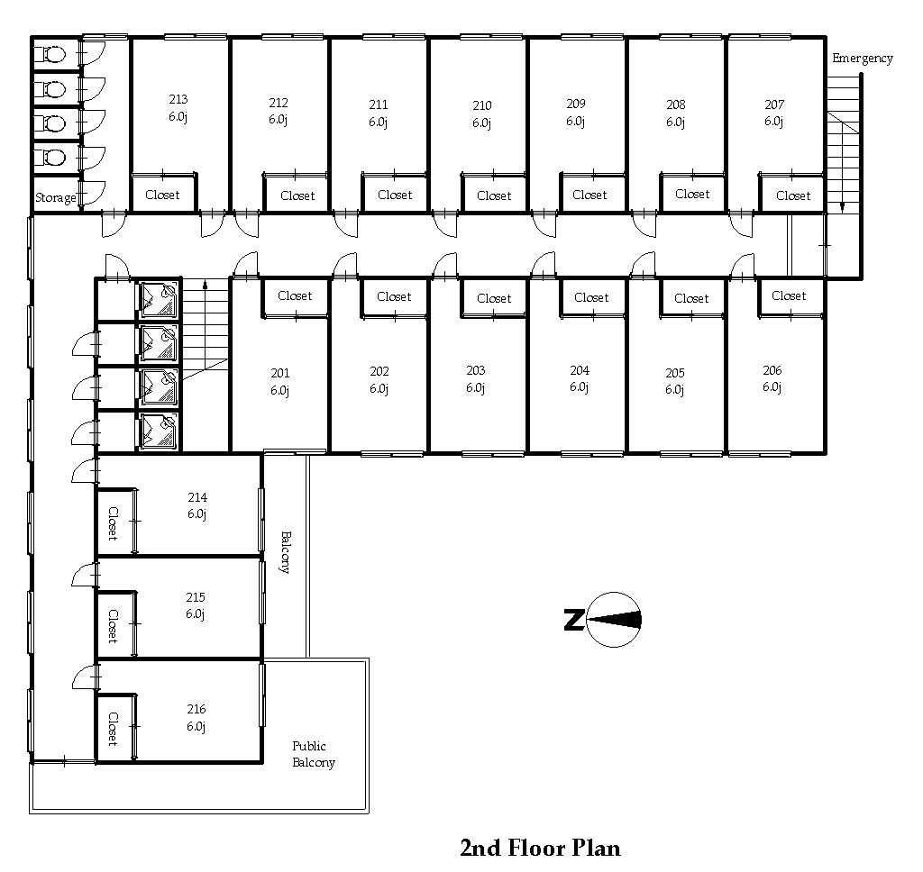 guesthouse sharehouse OAKHOUSE東小金井2 floorplan2