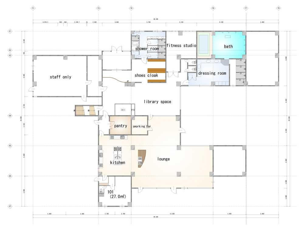 guesthouse sharehouse Social 美宅 南浦和 floorplan1