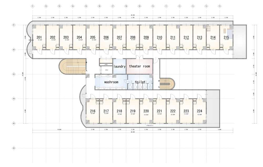 guesthouse sharehouse Social 美宅 南浦和 floorplan2