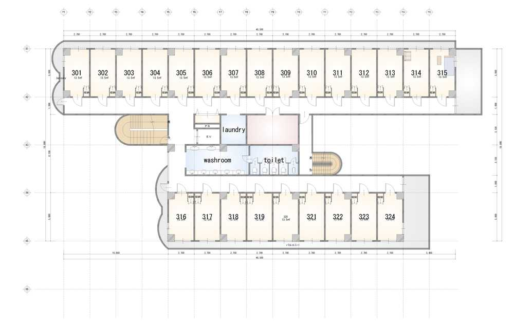 guesthouse sharehouse Social 美宅 南浦和 floorplan3