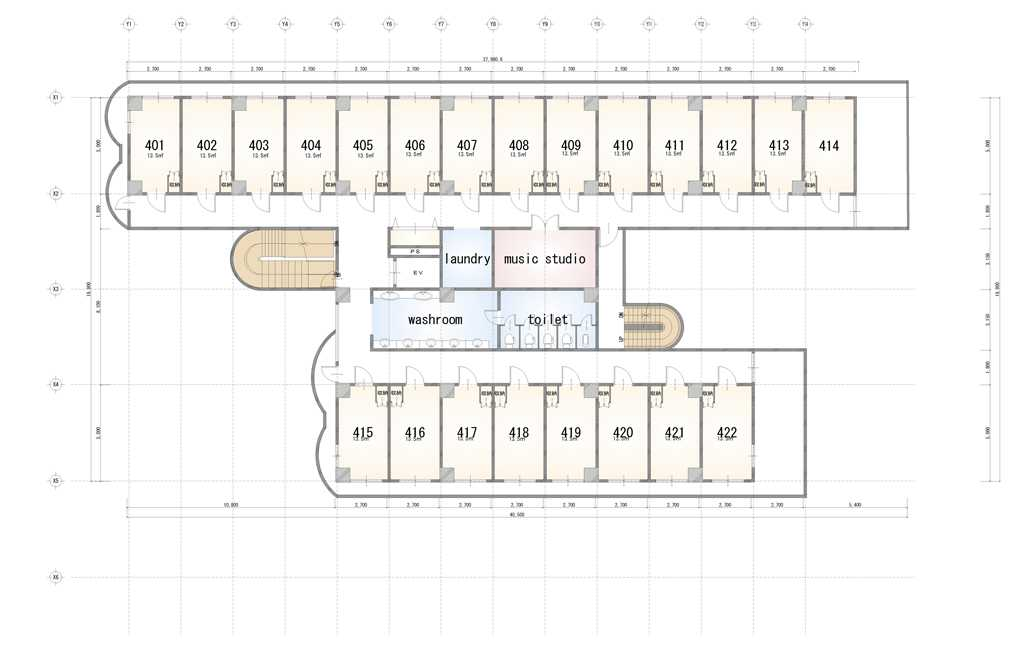 guesthouse sharehouse Social 美宅 南浦和 floorplan4