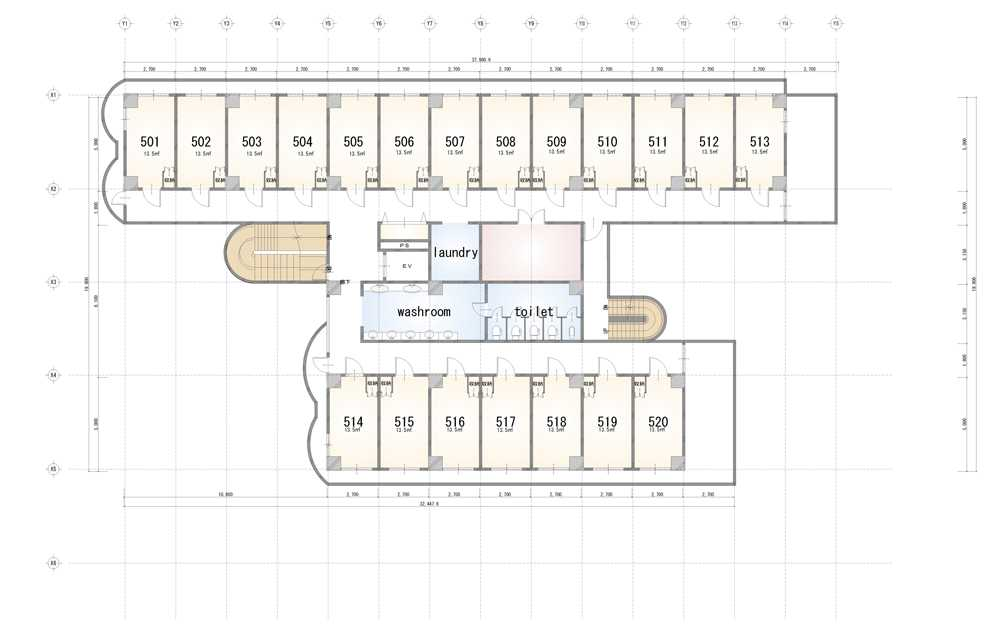 guesthouse sharehouse Social 美宅 南浦和 floorplan5