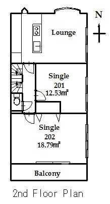 guesthouse sharehouse FLORA HANEDA AIRPORT floorplan2
