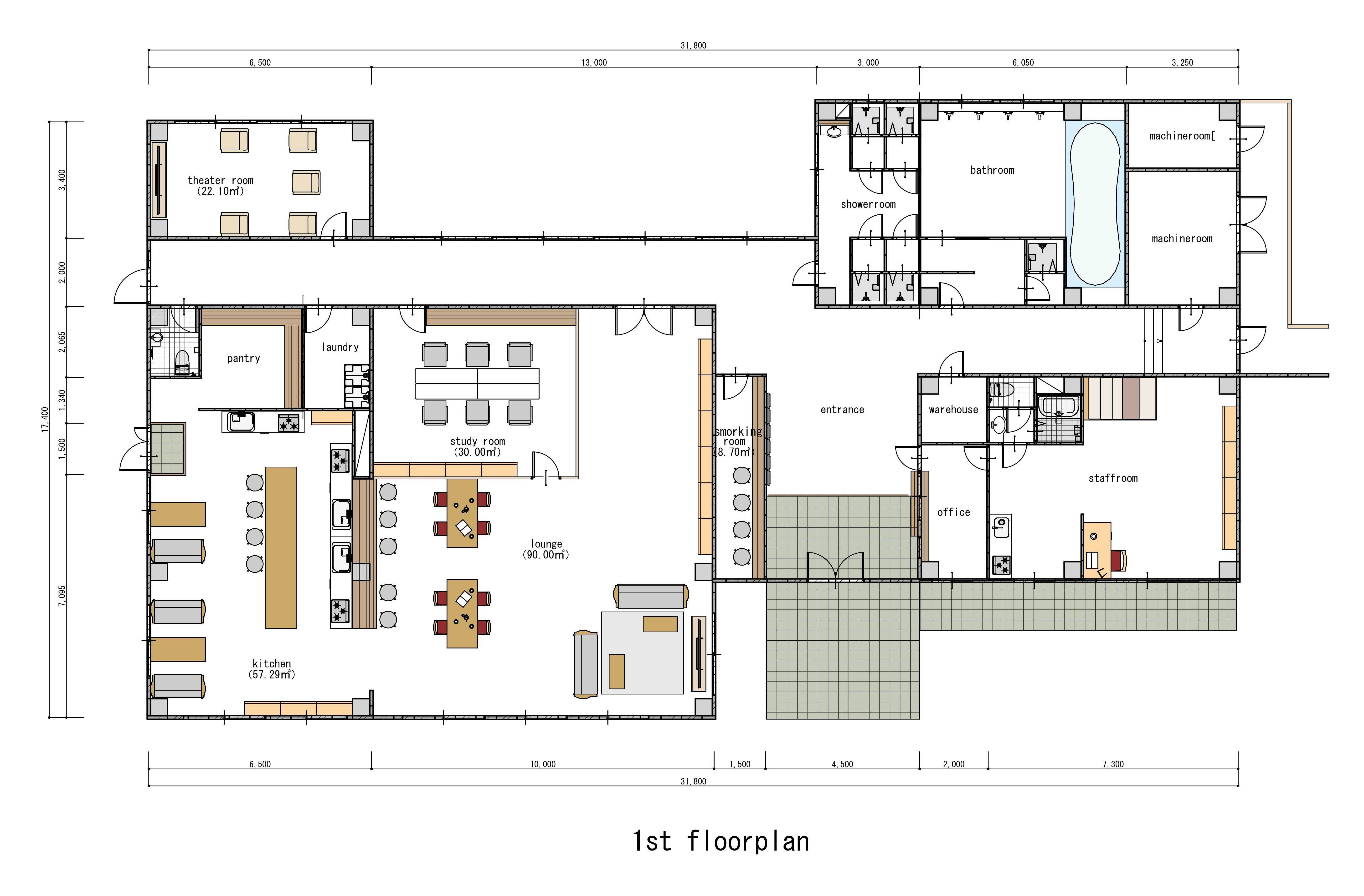 guesthouse sharehouse Social美宅 東戶塚 floorplan1