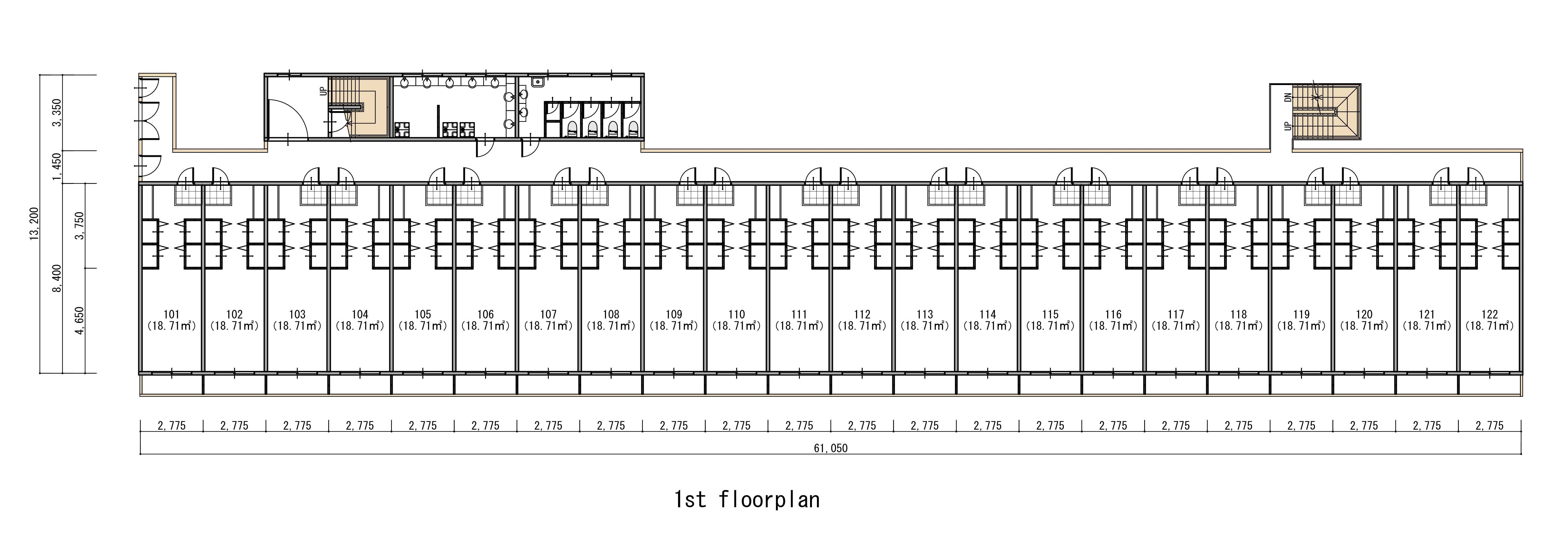guesthouse sharehouse Social美宅 東戶塚 floorplan2