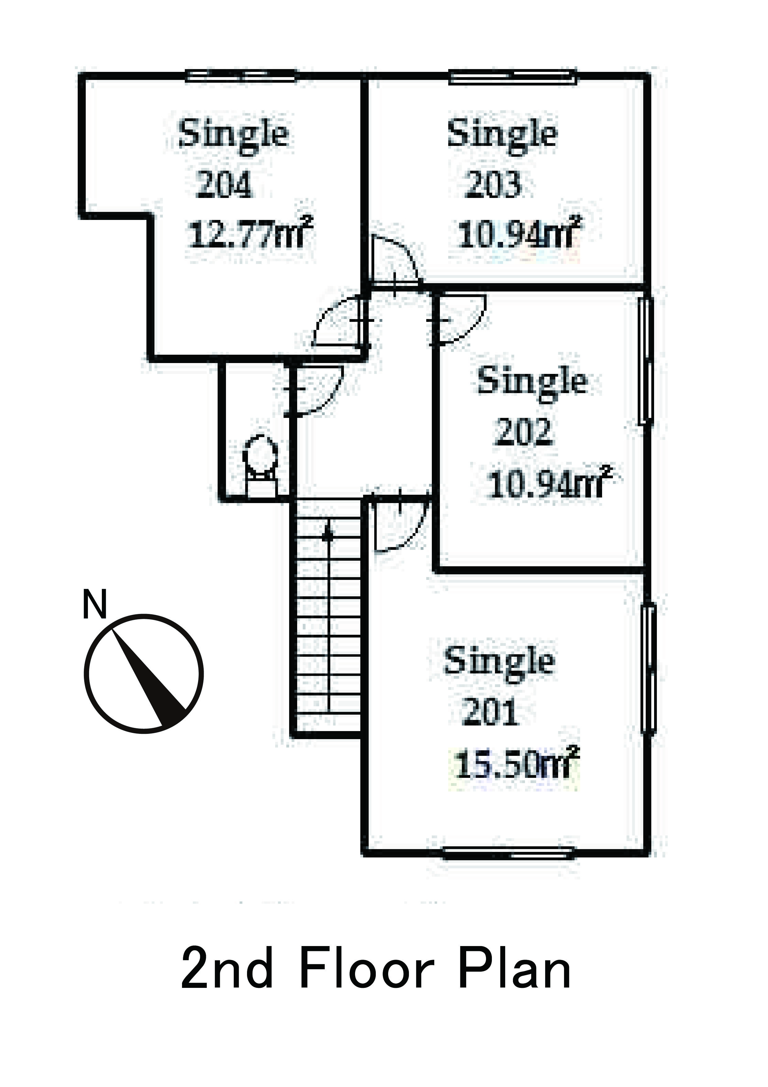guesthouse sharehouse OAKHOUSE品川旗之台 floorplan2