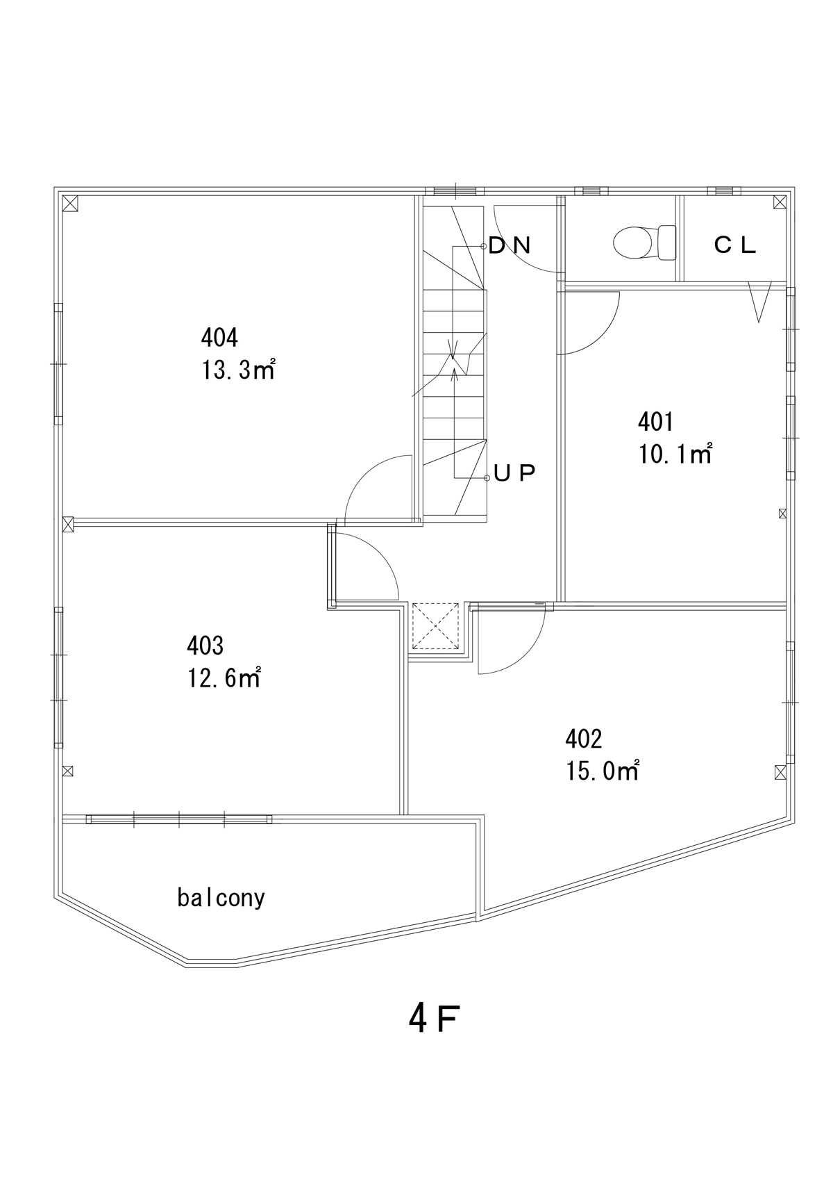 guesthouse sharehouse Premiere大島 floorplan4