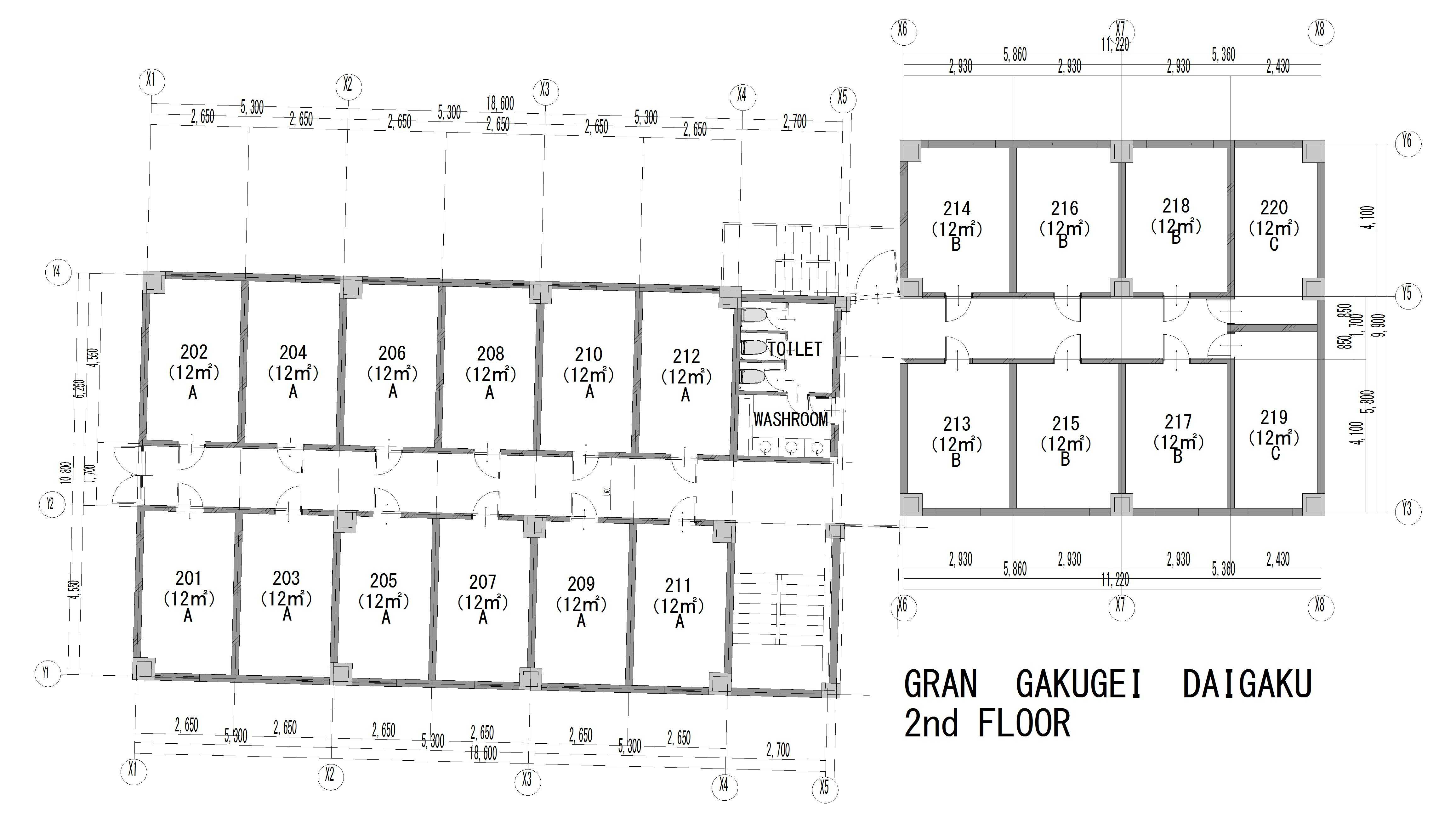 guesthouse sharehouse GRAN學藝大學 floorplan2