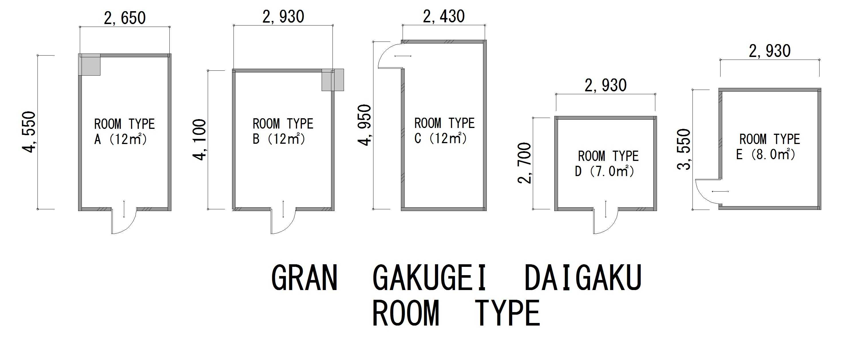 guesthouse sharehouse GRAN學藝大學 floorplan4