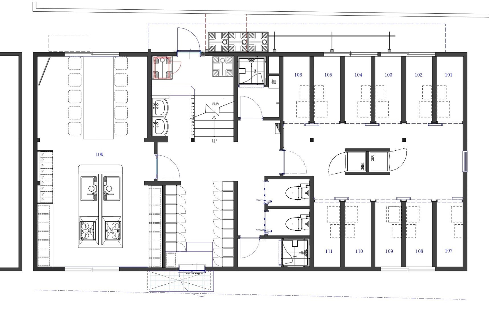 guesthouse sharehouse COCON蕨 floorplan1