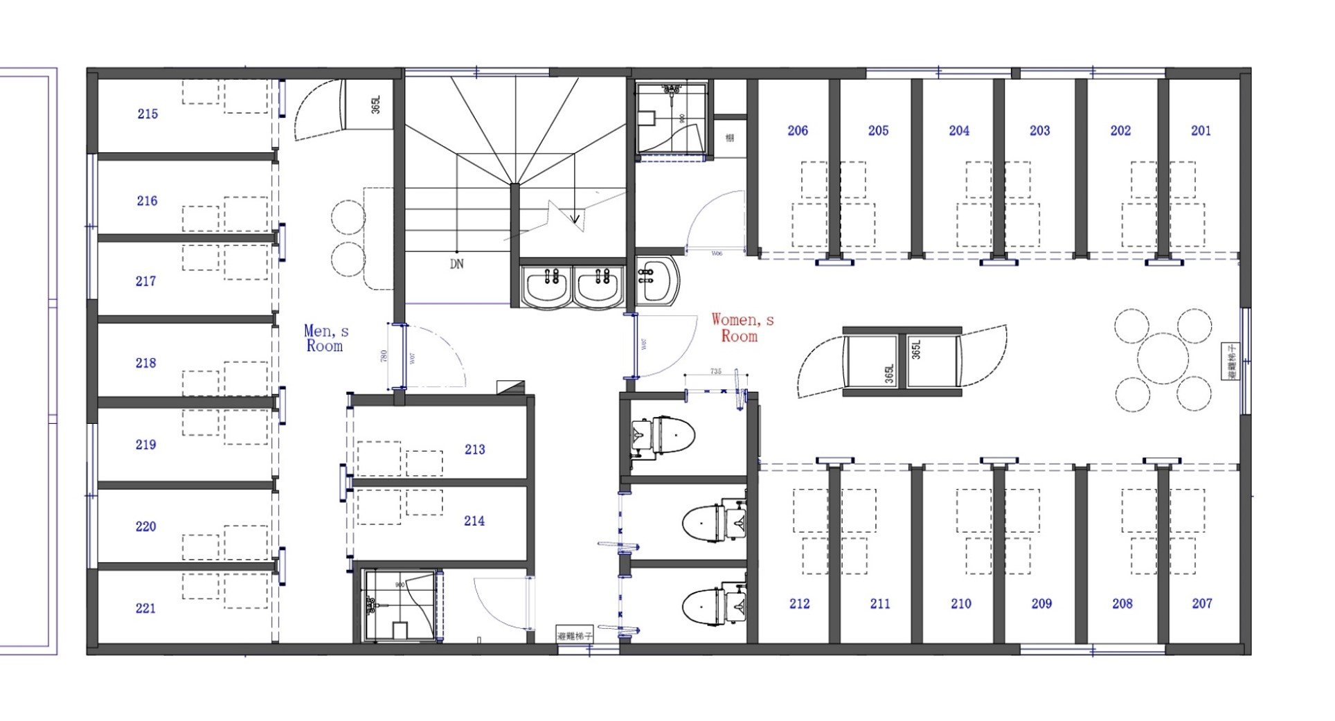 guesthouse sharehouse COCON蕨 floorplan2