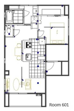 guesthouse sharehouse MY HIROO BUILDING floorplan1