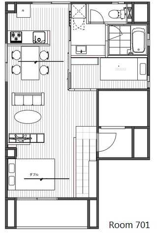 guesthouse sharehouse MY HIROO BUILDING floorplan2