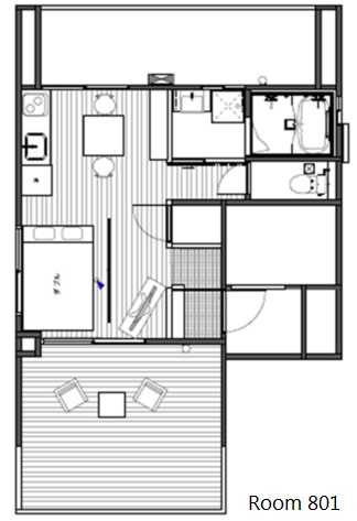 guesthouse sharehouse MY HIROO BUILDING floorplan3