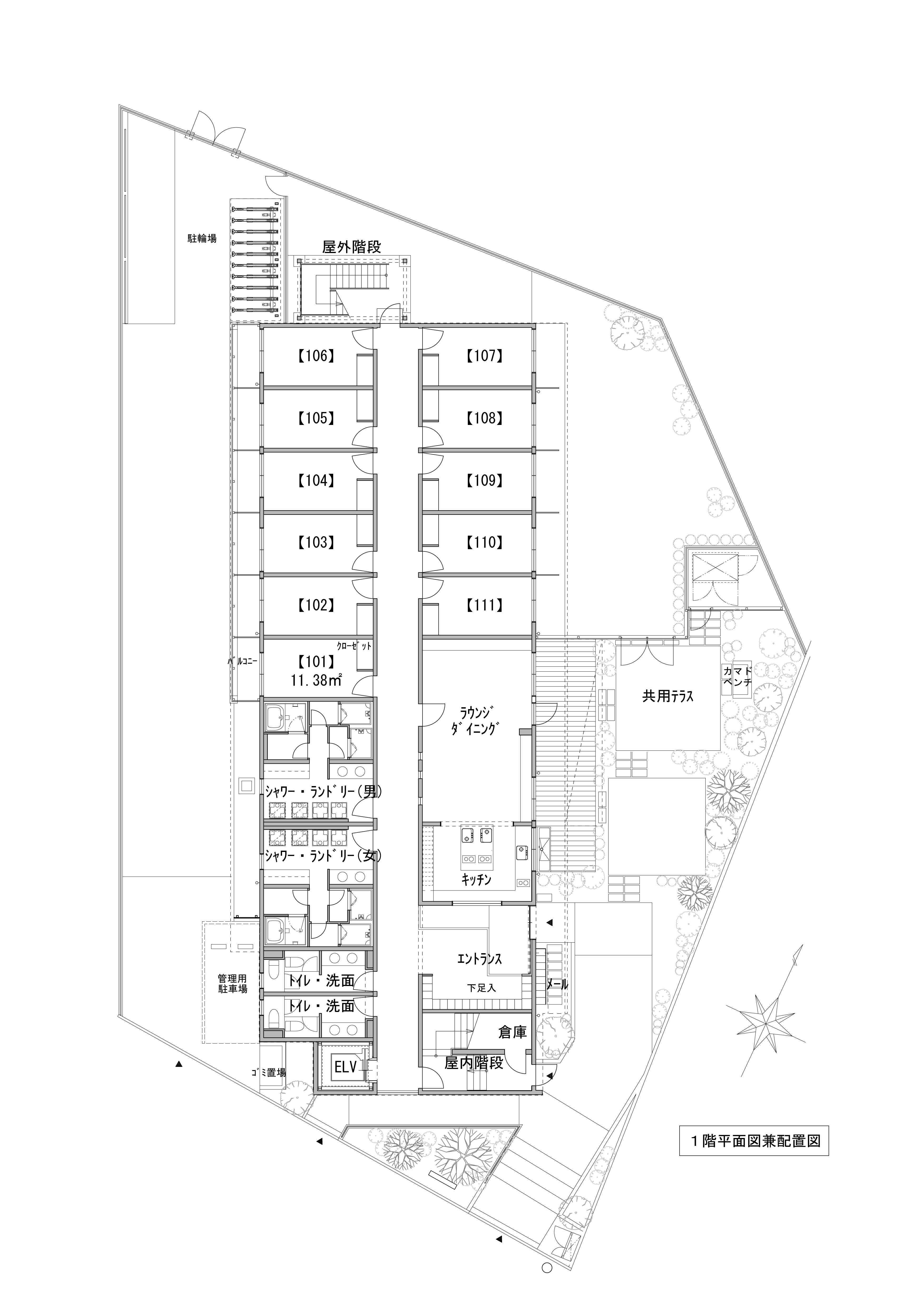 guesthouse sharehouse Social美宅 上北澤 floorplan1