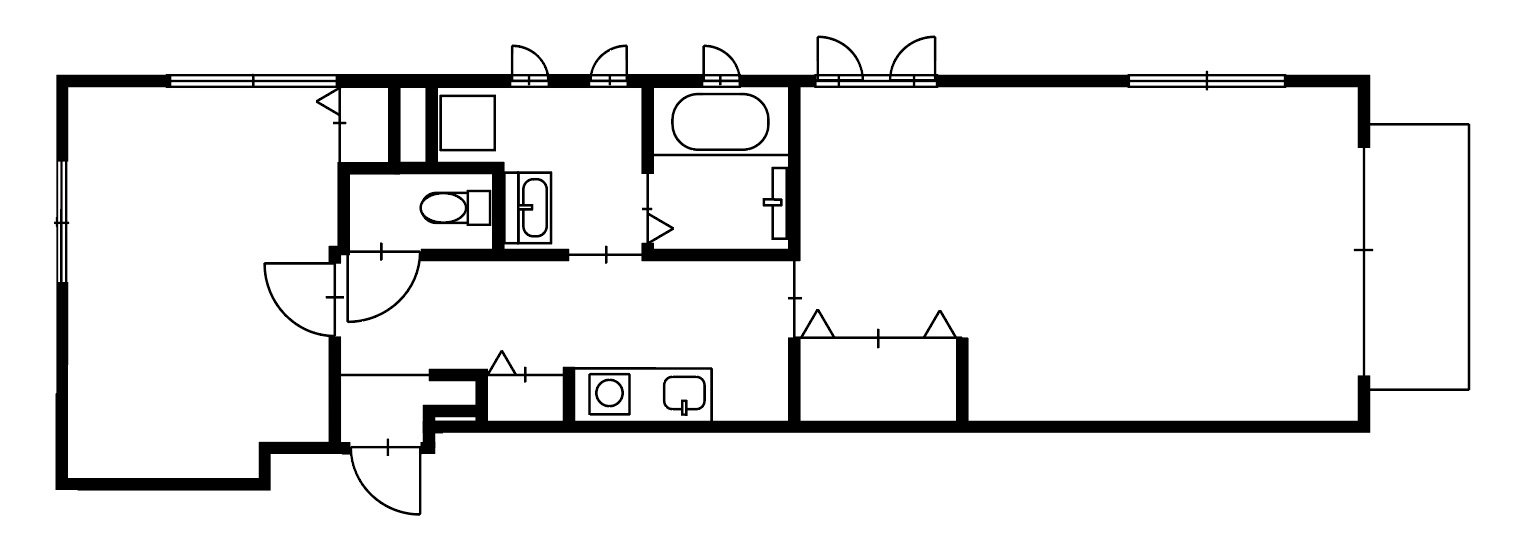 guesthouse sharehouse OAK APARTMENT EDA floorplan3