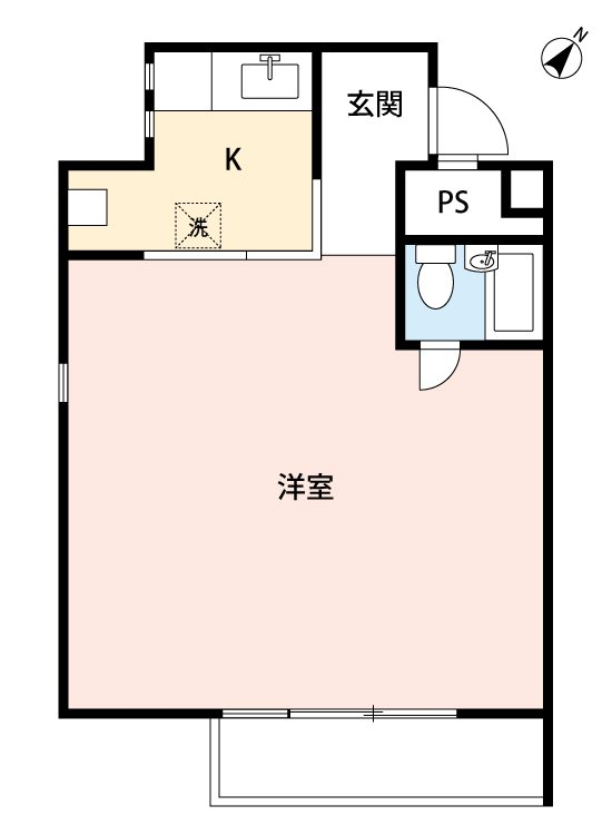 guesthouse sharehouse HAKUSAN HOUSE floorplan1