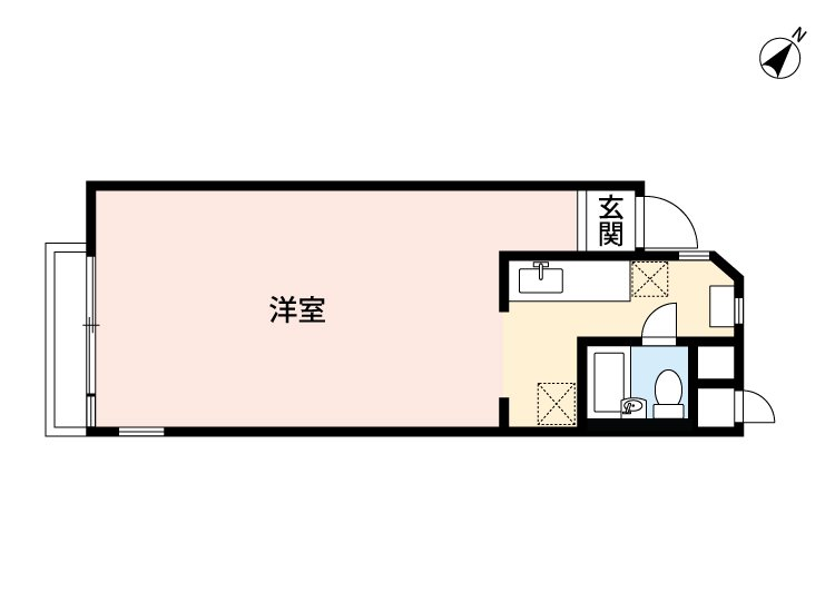 guesthouse sharehouse HAKUSAN HOUSE floorplan2