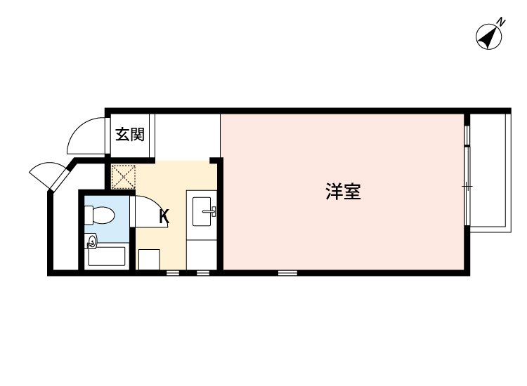 guesthouse sharehouse HAKUSAN HOUSE floorplan6