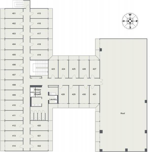 guesthouse sharehouse Social Residence 훗사 floorplan4