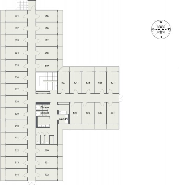 guesthouse sharehouse Social Residence 훗사 floorplan5