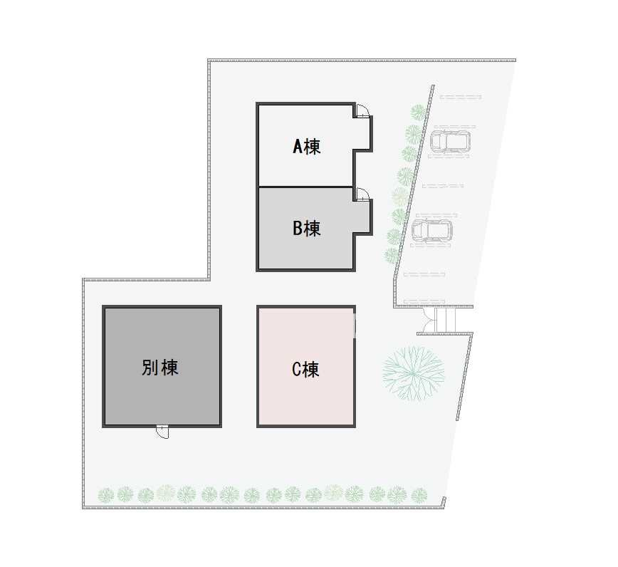 guesthouse sharehouse オークハウス川越南古谷 floorplan5