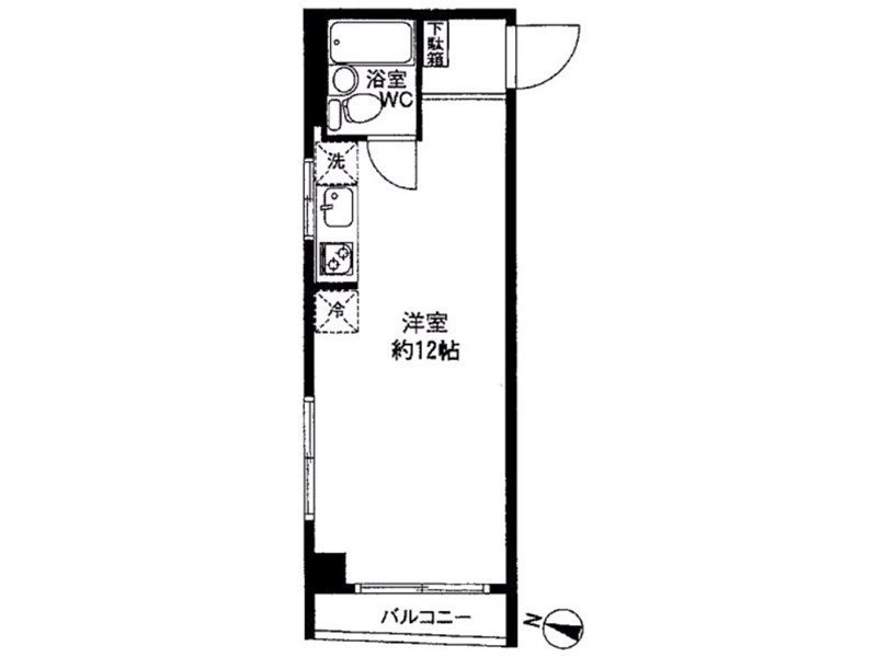 guesthouse sharehouse CORP TERAMAE floorplan1