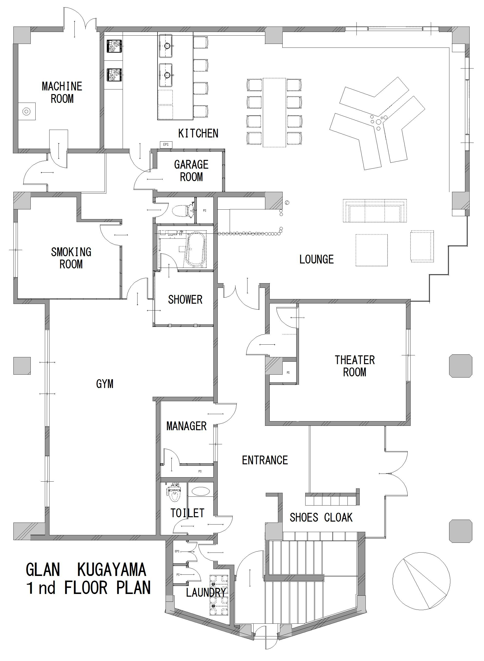 guesthouse sharehouse グラン久我山 floorplan1