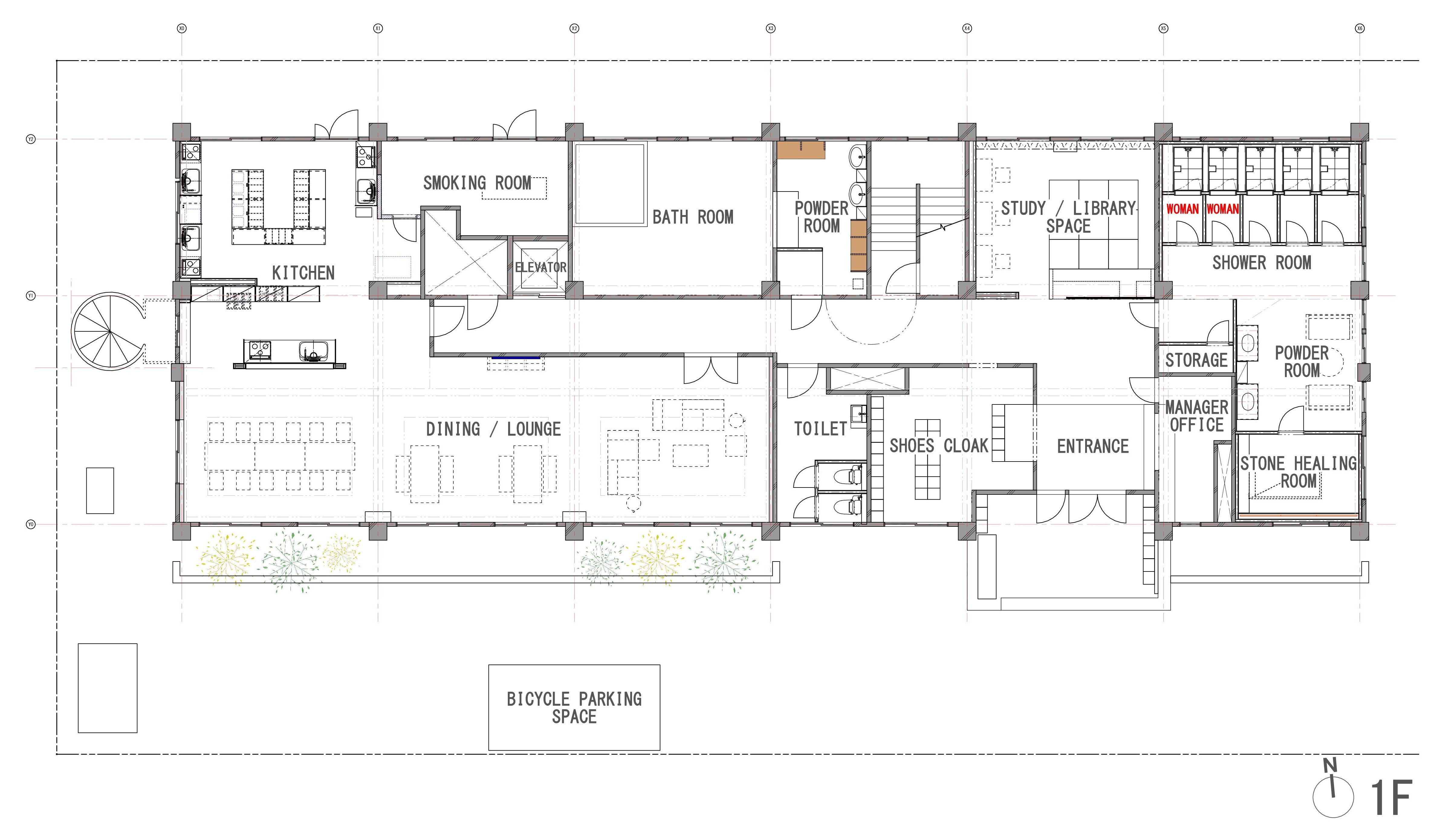 guesthouse sharehouse ソーシャルレジデンス市ヶ尾NORTH floorplan1
