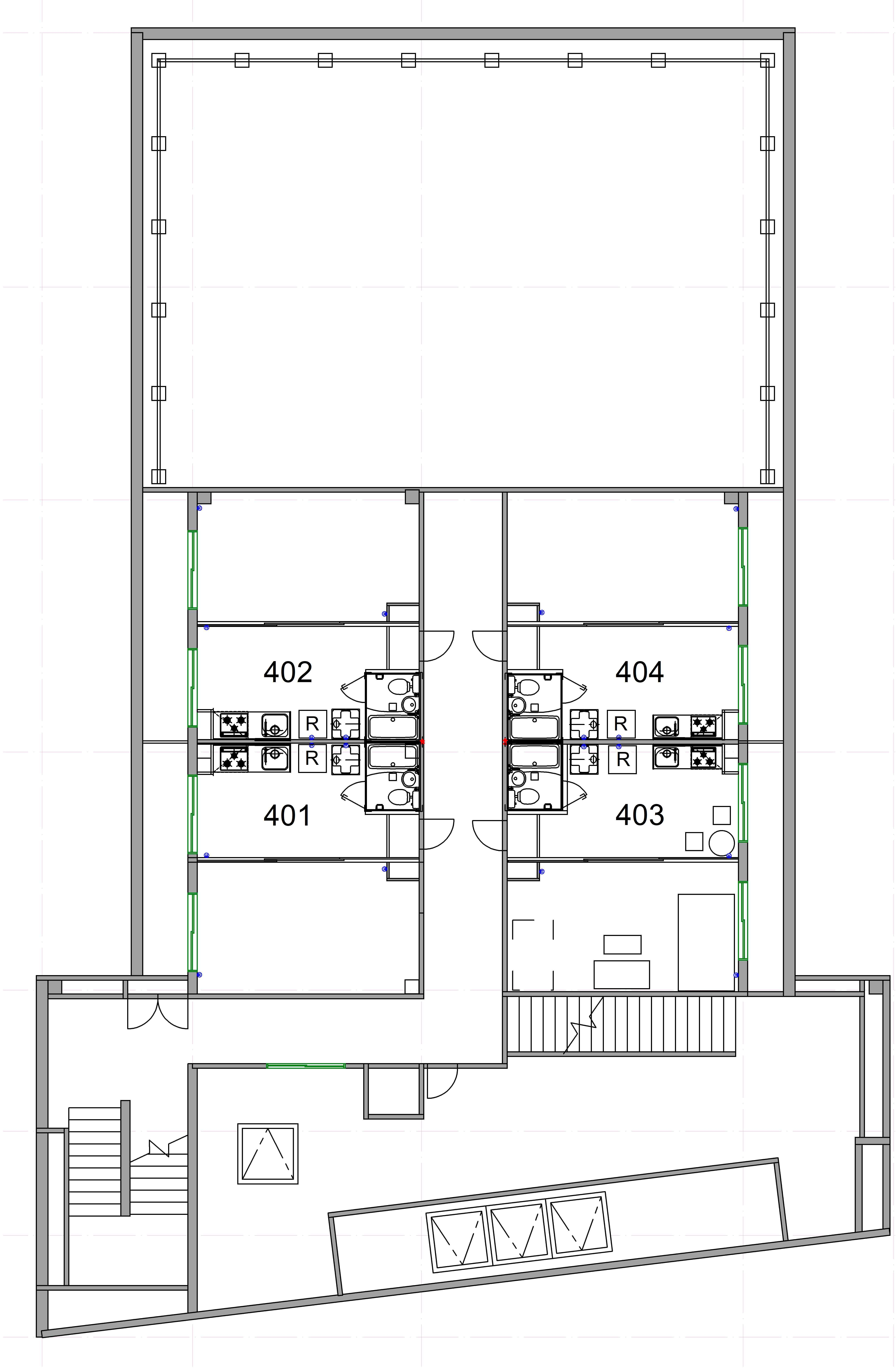 guesthouse sharehouse オークハウス立川駅前 floorplan1