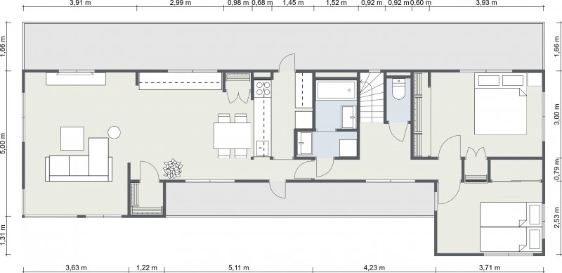 guesthouse sharehouse メゾンシェル floorplan2