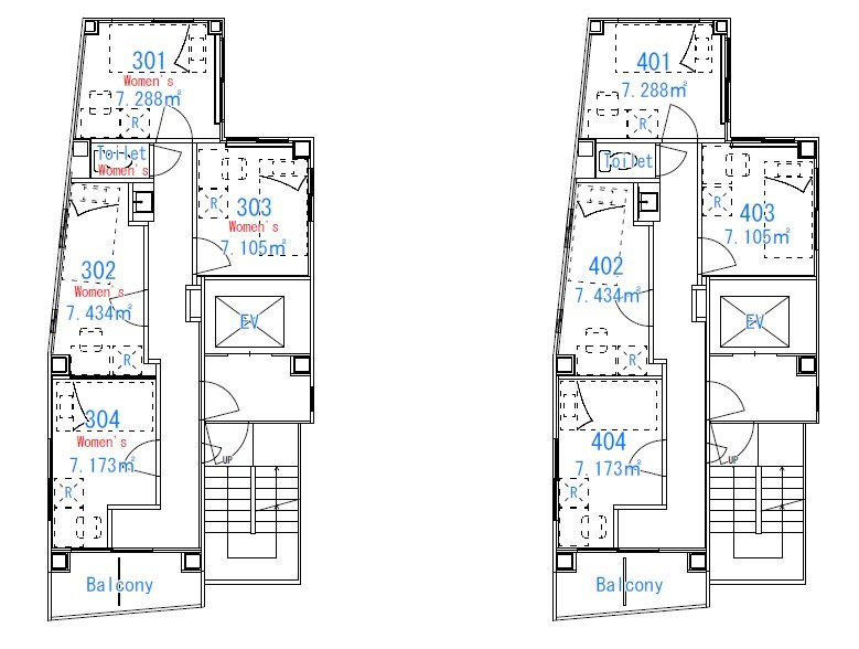 guesthouse sharehouse 프리미어 코마고메 floorplan2