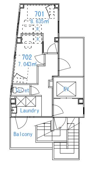 guesthouse sharehouse 프리미어 코마고메 floorplan4