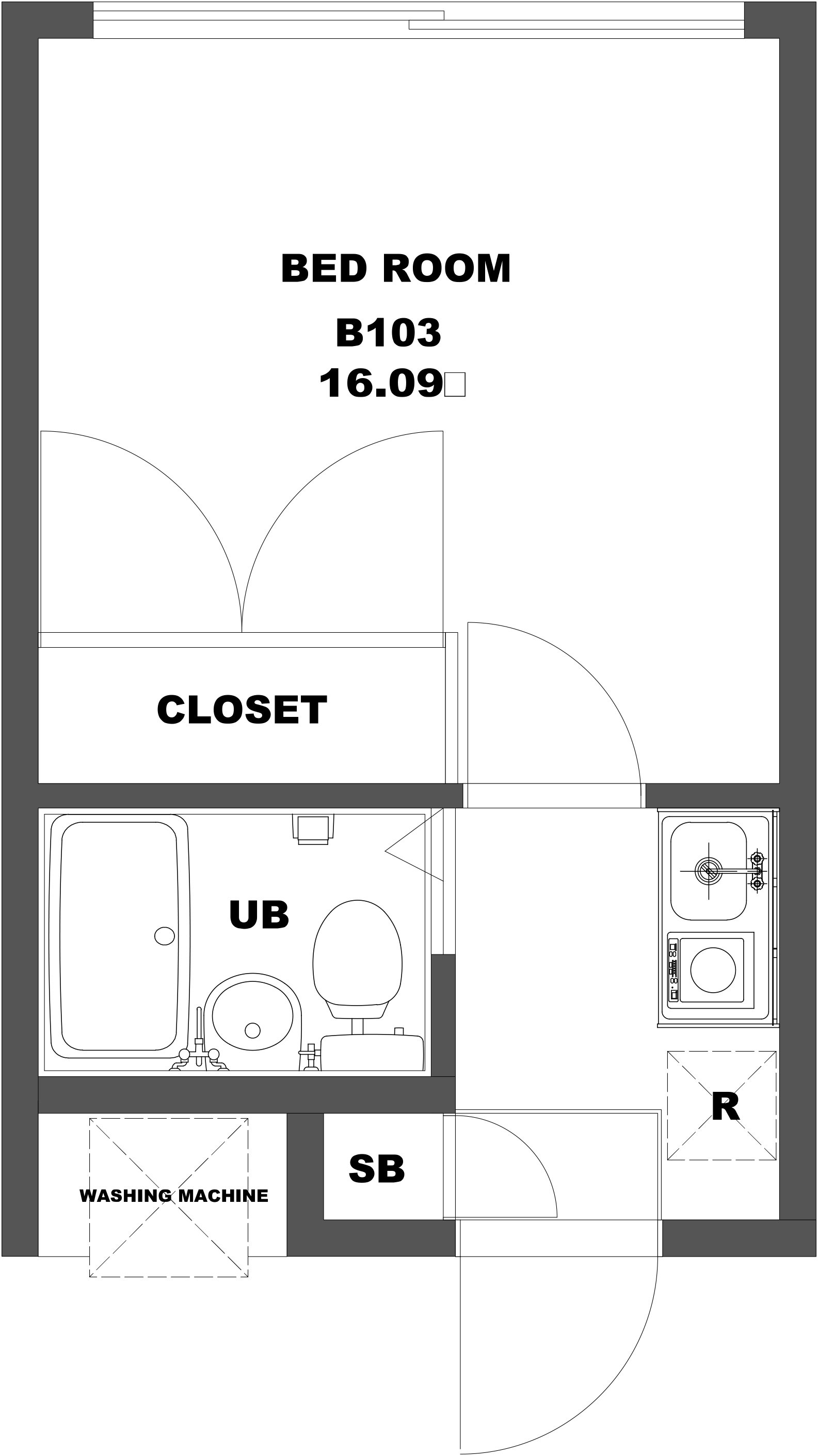 guesthouse sharehouse PEARL HEIGHTS HEIWADAI floorplan5