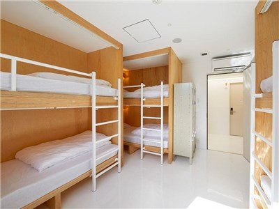 guesthouse sharehouse MUSTARD HOTEL SHIBUYA roomDORMITORY FOR WOMEN