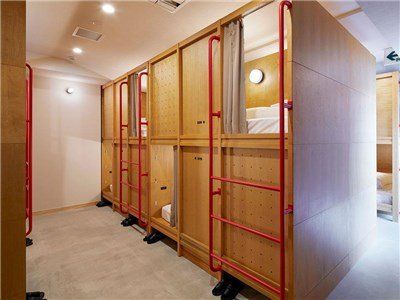 guesthouse sharehouse マスタードホテル 浅草2 roomDORMITORY FOR WOMEN