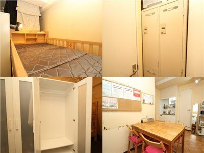 guesthouse sharehouse Forest House六本木。 room101D
